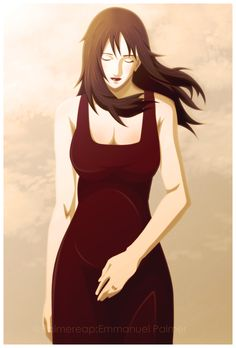 Tried to do Kurenai from one of the latest episodes of Naruto, not to sure if i did this right. Naruto Uzumaki, Anime Naruto, Naruto Fan Art, Naruto Girls, Shikamaru, Wallpaper Naruto Shippuden, Naruto Wallpaper, Asuma Y Kurenai, Anime Pregnant