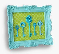 modge podge decorative frame
