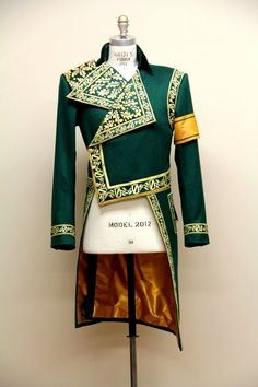 """Tailsuit for """"Wicked"""", Broadway. Designed by Susan Hilferty. — at Artur & Tailors Ltd."""