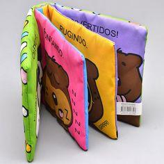 Dicas de livros para bebês  para explorarem tranquilamente