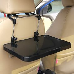 Buy Zonstyle NEW Multi-functional Car Vehicle Seat Portable Foldable Car Seat Back Pc Mount Tray Black Table Laptop Notebook Desk Table Car Dining Food Drink Desk Cup Holder at Wish - Shopping Made Fun Kangoo Camper, Suv Camper, Van Camping, Camping Hacks, Truck Camping, Shoe Storage Rv, Van Storage, Hide Trash Cans, Shoe Tidy