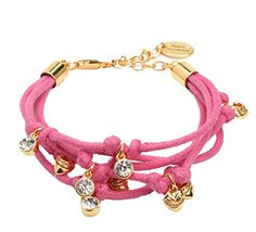 Juicy Couture Multi Strand Charm Bracelet, Pink Juicy Couture http://www.amazon.com/dp/B00W3RUQ1G/ref=cm_sw_r_pi_dp_mDslvb0BFBJA6