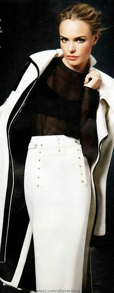Kate Bosworth for Tom Ford, nice skirt