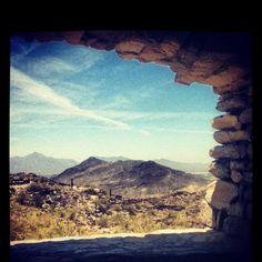 South mountain in Phoenix Arizona