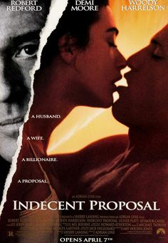 Indecent Proposal (1993) Original One-Sheet Movie Poster
