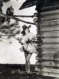 Esther Williams Goes Turkey Hunting