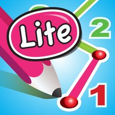 DotToDot numbers & letters lite by Apps in My Pocket Ltd Ipod Touch, Ipad, Burger King Logo, Iphone, Cool Pictures, Numbers, Letters, Numeracy, Infants