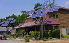 Solar Trees: Plenty of shade, none of the raking.