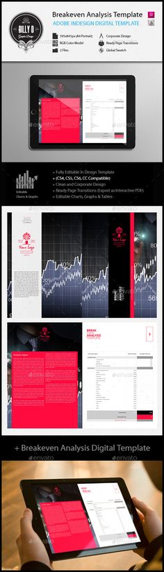 Brand Message Worksheet Digital Template Worksheets, Corporate - breakeven template