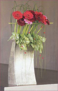 #Pappe #hoch #Gerbera #Büro #K Concours d'Art floral : Belgique