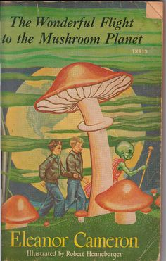 The Wonderful Flight to the Mushroom Planet by Eleanor Cameron. An older series of children's books that should not be forgotten.