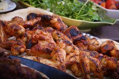 Πεντανόστιμα παϊδάκια Κοτόπουλο στη σχάρα