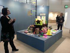 Neonfarben sind In. Dekotrends von der Lifestylemesse early bird 2013. #Wohnkiste