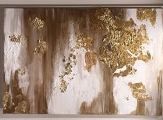 """Gold Leaf Art! Find it in """"Projects"""""""