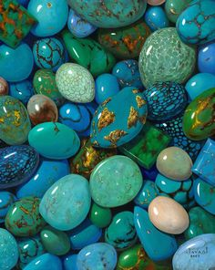 turquoise types (and other gems) Cool Rocks, Beautiful Rocks, Beautiful Nature Wallpaper, Colorful Wallpaper, Minerals And Gemstones, Rocks And Minerals, Fond Design, Art Pierre, Stone Wallpaper