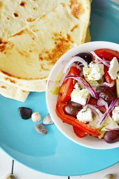 Insalata greca e pita