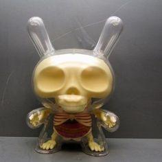 "Kidrobot x Jason Freeny - 8"" Visible Dunny"