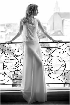 Fabienne Alagama wedding dress in Paris