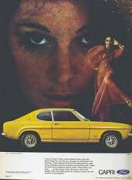 Afbeeldingsresultaat voor ford capri advertising
