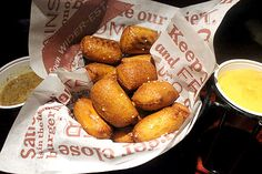 Fried pretzel nuggets at Red Robin