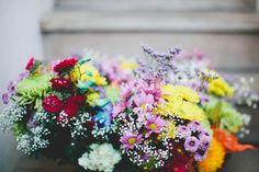 Bohemian Bouquet Inspiration /Rhian & Jake's Chic Bohemian Wedding on The LANE / Brooke Adams Photography