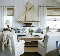 sail boats, display, styling, templates, beach house style