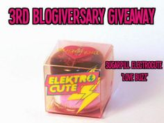 3rd Blogiversary Giveaway: Sugarpill Electrocute 'Love Buzz' Eyeshadow