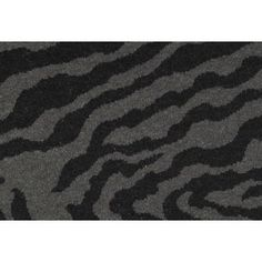 Check out this item at One Kings Lane! Zed Rug, Black/Gray
