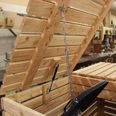 Mülltonnenbox 2 Tonnen à 240 Liter - All About Gardens Garden Shed Diy, Garden Boxes, Diy Garden Decor, Garbage Can Shed, Garbage Can Storage, Trash Can Storage Outdoor, Outdoor Trash Cans, Recycling Storage, Storage Bins