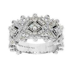 Judith Ripka Sterling Estate Style Diamonique Ring.  Look at the bracelet!!!!