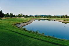Beautiful hole at Covered Bridge Golf Club Covered Bridges, Golf Clubs, Golf Courses, River, Outdoor, Beautiful, Outdoors, Covered Decks, Outdoor Games
