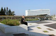 La place de l'Hôtel de ville de Viborg au Danemark