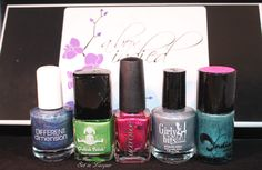 Giveaway - April 2014 A Box Indied - Set in Lacquer