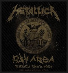 Official Patch. Licensed product. Metallica, Patches, The Unit