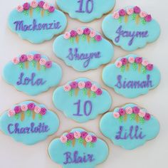 Boho personalized plaque cookies Personalized Plaques, Sugar, Cookies, Boho, Desserts, Crack Crackers, Tailgate Desserts, Deserts, Biscuits