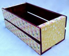 Vintage flower crate by intralove on Etsy