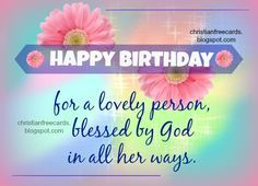 christian birthday quotes for women - Google Search