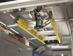 Work Van Storage | Details about Jet Rack Step Ladder Storage System from American Van
