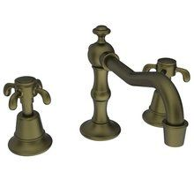View the Newport Brass 1690 Virginia Double Handle Widespread Lavatory Faucet with Metal Cross Handles (Low Lead Compliant) at FaucetDirect.com.