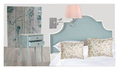 """Bedroom spring"" by tatiana-petushkova on Polyvore featuring interior, interiors, interior design, дом, home decor, interior decorating, Safavieh, Jane Wilner Designs и bedroom"