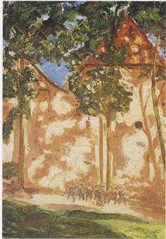 Trees and Shadows - Winston Churchill