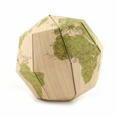 Wooden Sectional Globe Kit