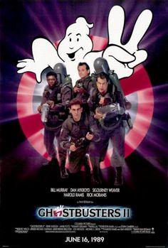 HSE Ghostbusters II 1989 Movie Poster Bill Murray Sigourney Weaver (Reproduction, not an Original) Bill Murray, Extreme Ghostbusters, The Real Ghostbusters, Ghostbusters Poster, Ghostbusters Costume, Game Boy, Zulu, Die Geisterjäger, Peter Macnicol
