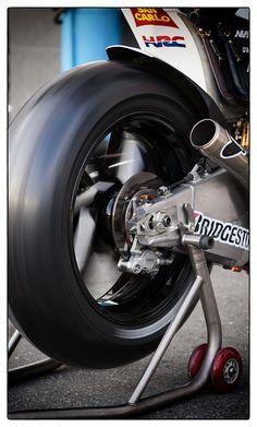 MotoGP Honda RCV Marco Simoncelli by bonnie790, via Flickr