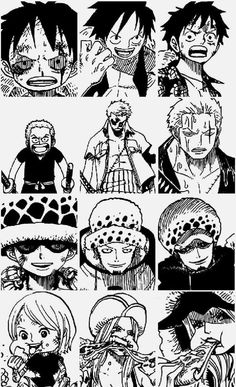 Image via We Heart It https://weheartit.com/entry/139062235/via/10260951 #anime #manga #onepiece #luffy #zoro #trafalgarlaw #bonney #thesupernovas
