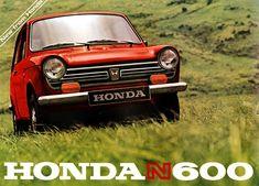 HONDA  N600