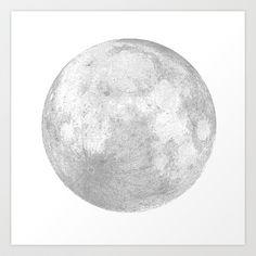 luna Art Print by alterflower - $12.48