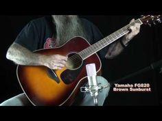 Loops and Beats: Yamaha FG820 Folk Acoustic Guitar - Beginner, Back...
