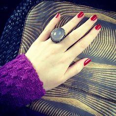 Russia is love! @victoriaandreyanova dress @axenoffjewellery ring @alenaakhmadullina clutch for #mfw ❤ #me #milan #loveit #details #fashionblogger #fashionweek #fashiondailygoestomilan #instafashion - @daria_kunilovskaya- #webstagram