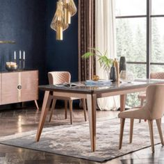 Mobilier Dining - Alfemo Palermo, Dining Room, Table, Furniture, Design, Home Decor, First Up Canopy, Decoration Home, Room Decor